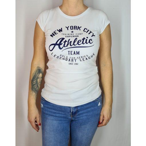 Athletic feliratú póló, S-XL-ig