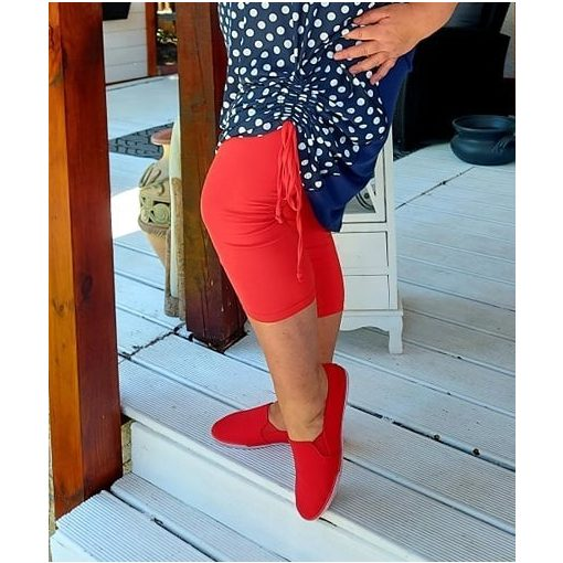 Piros leggings, XL-6XL-ig